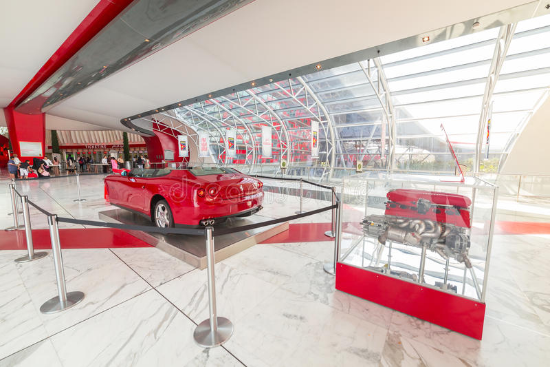 Download Ferrari World At Yas Island In Abu Dhabi Editorial Image - Image: 40147265