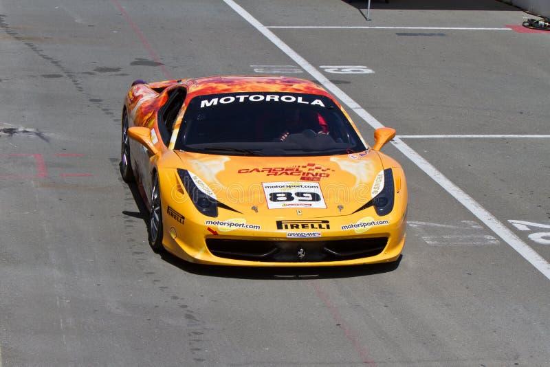 Ferrari wyzwania Sonoma młynówka obrazy stock