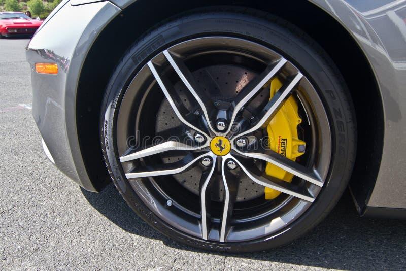 Ferrari wyzwania Sonoma młynówka obraz stock