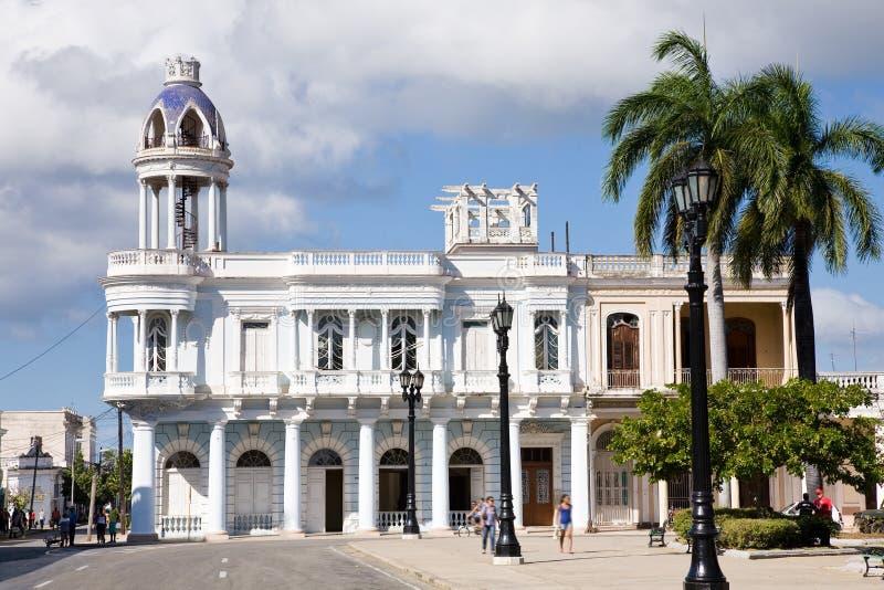 Ferrer palace, Cienfuegos stock photo