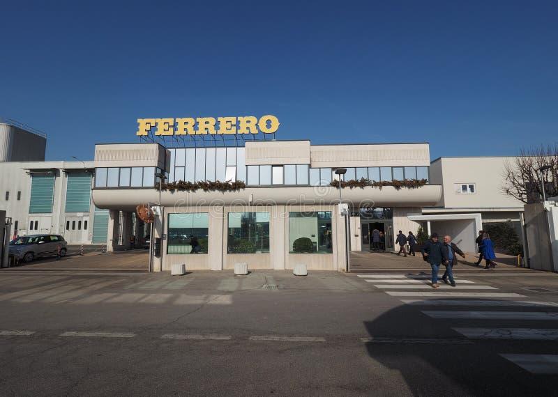 Ferrero-Hauptsitze in alba lizenzfreies stockbild
