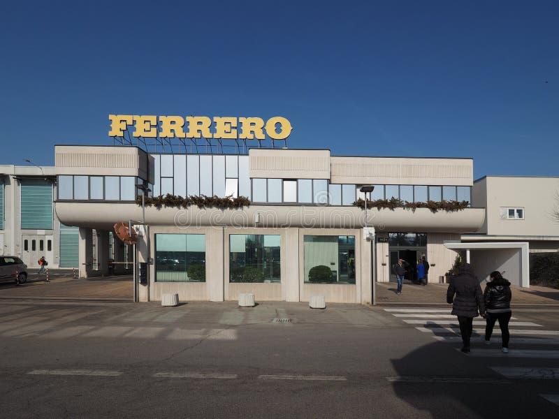 Ferrero-Hauptsitze in alba lizenzfreies stockfoto
