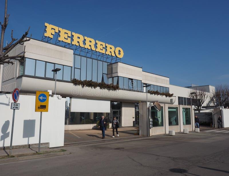 Ferrero-Hauptsitze in alba lizenzfreie stockfotos