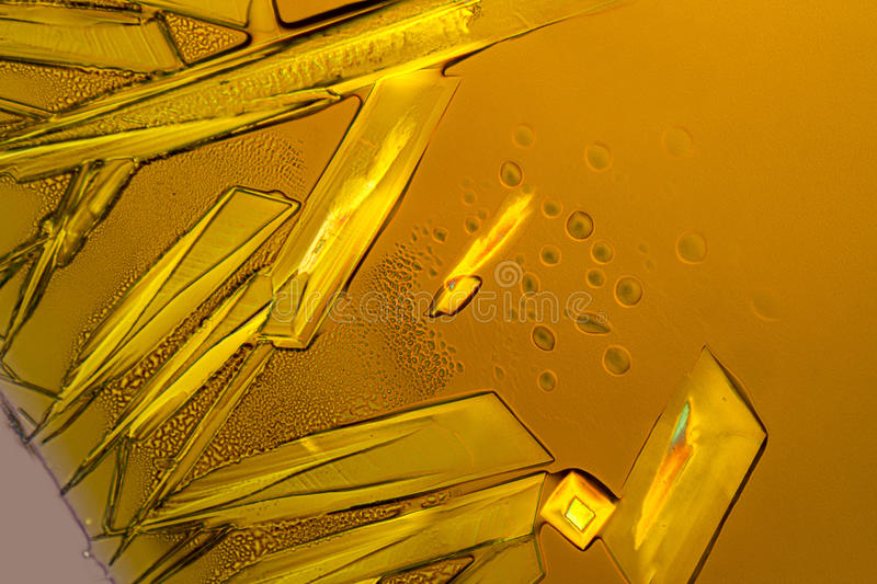 Ferric chloride crystals stock photos
