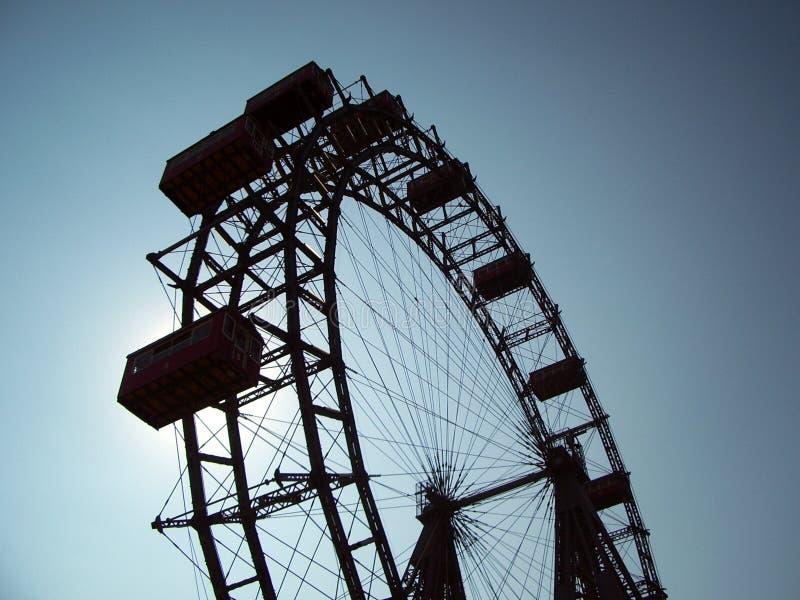 ferris巨型维也纳轮子 库存照片
