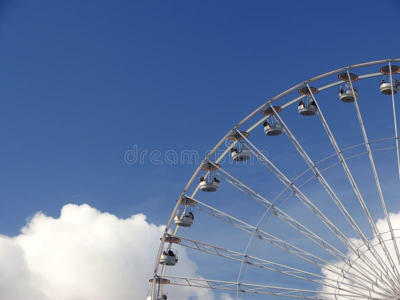 ferris巴黎轮子 库存照片