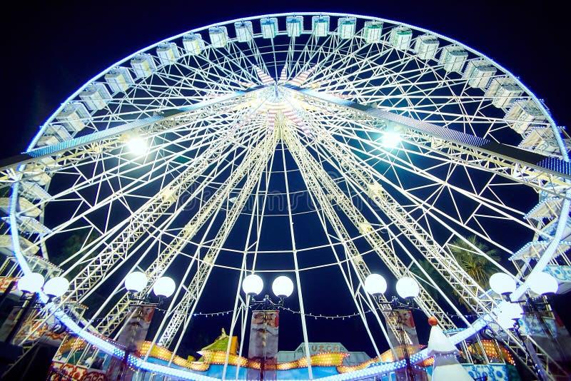 Ferris Νίκαια, Γαλλία στοκ φωτογραφία με δικαίωμα ελεύθερης χρήσης