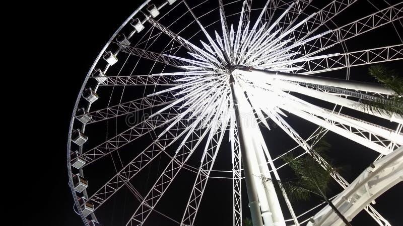 Ferris gigantyczny Koło zdjęcia royalty free