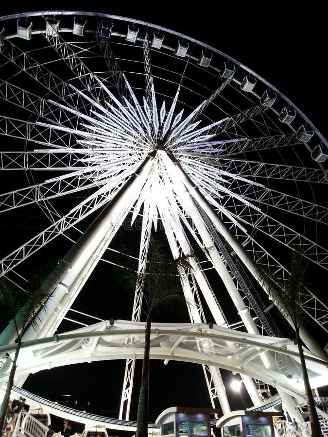 Ferris gigantyczny Koło obrazy stock