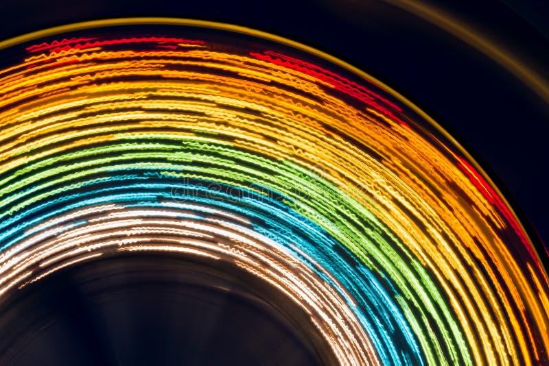 Ferris koła abstrakt zdjęcia royalty free