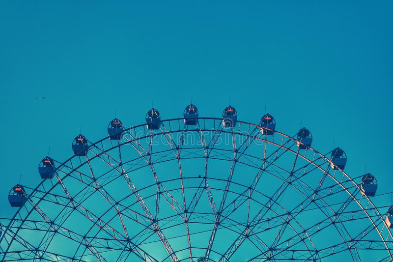 Ferris koła przyrodni okrąg obrazy stock