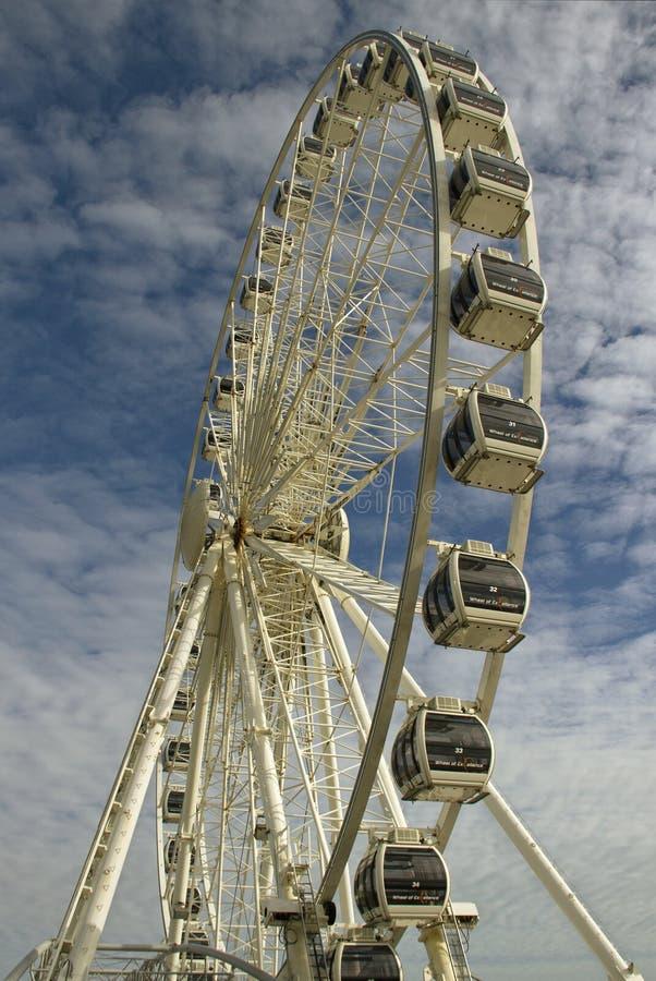 Ferris koło. obrazy stock