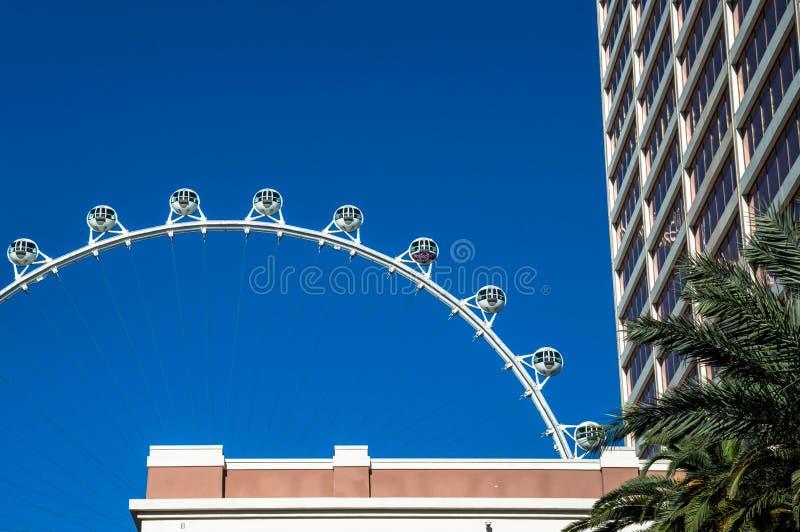 Ferris koło Las Vegas atrakcje turystyczne, Nevada obraz stock