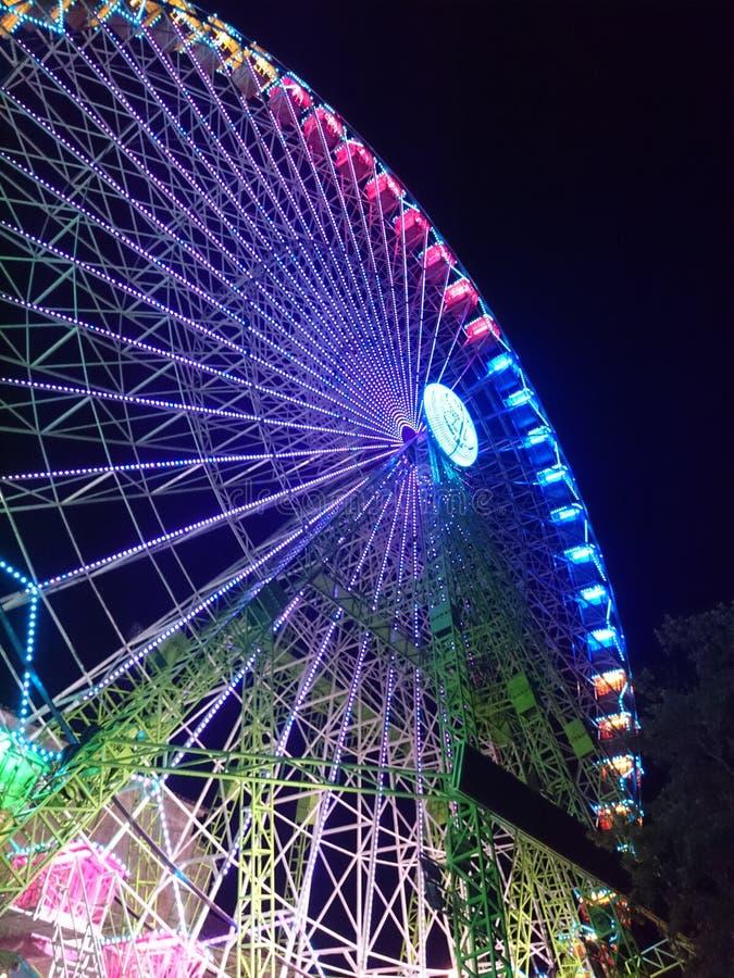 Ferris koło Przy nocą obrazy stock