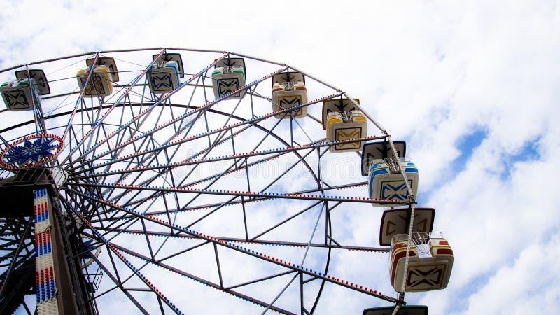 Ferris koło, Virginia plaża obraz stock