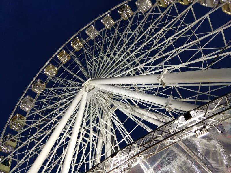 Ferris roda dentro Kyiv foto de stock