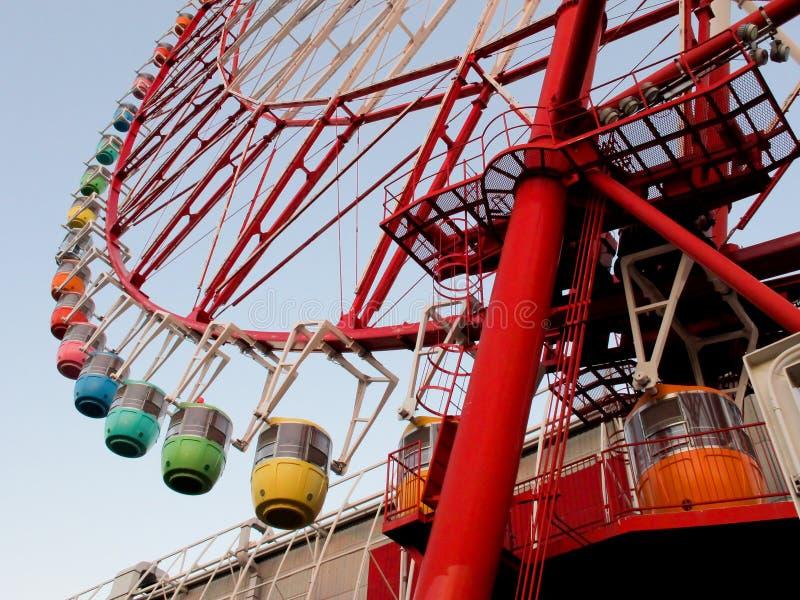 Ferris roda dentro o Tóquio foto de stock