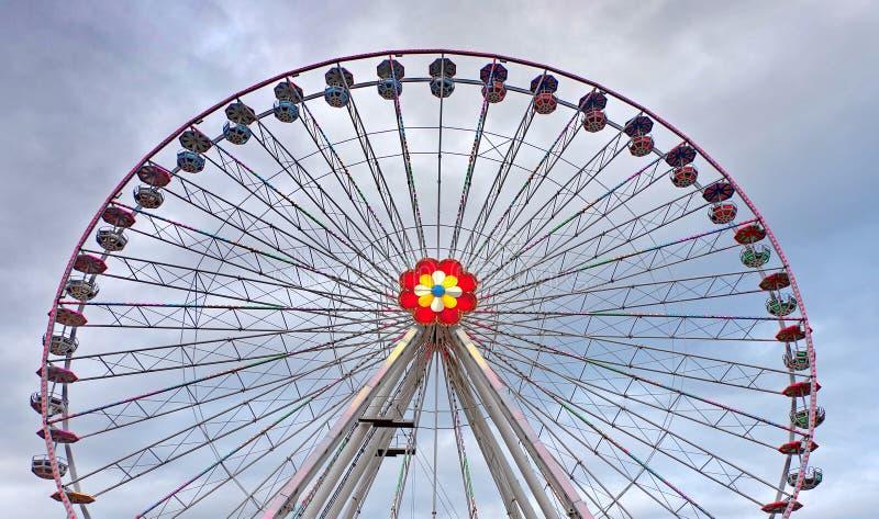 Ferris roda dentro Prater imagens de stock