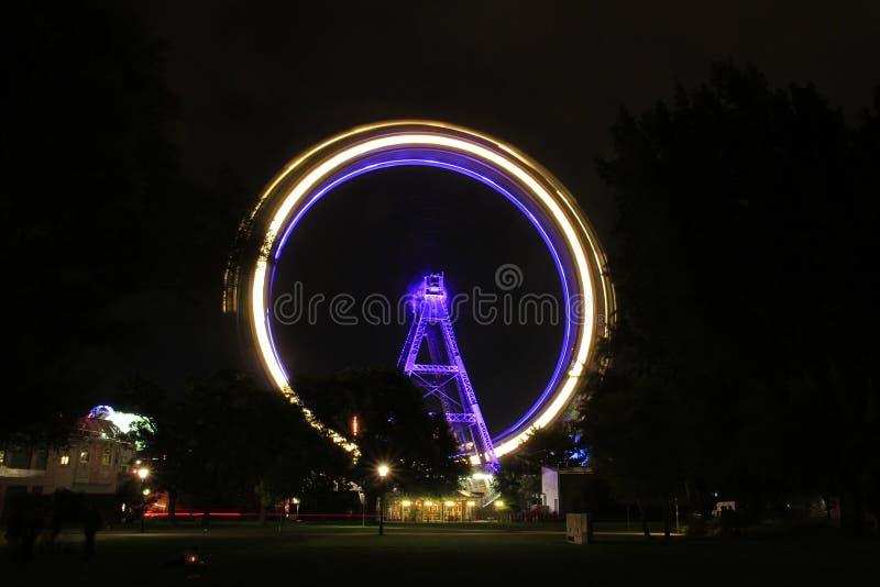 Ferris roda dentro Viena, Áustria imagens de stock royalty free