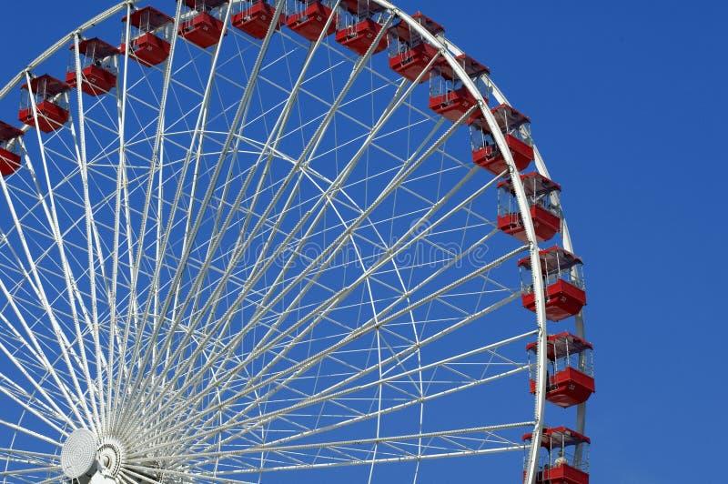 Ferris roulent dedans Chicago photographie stock