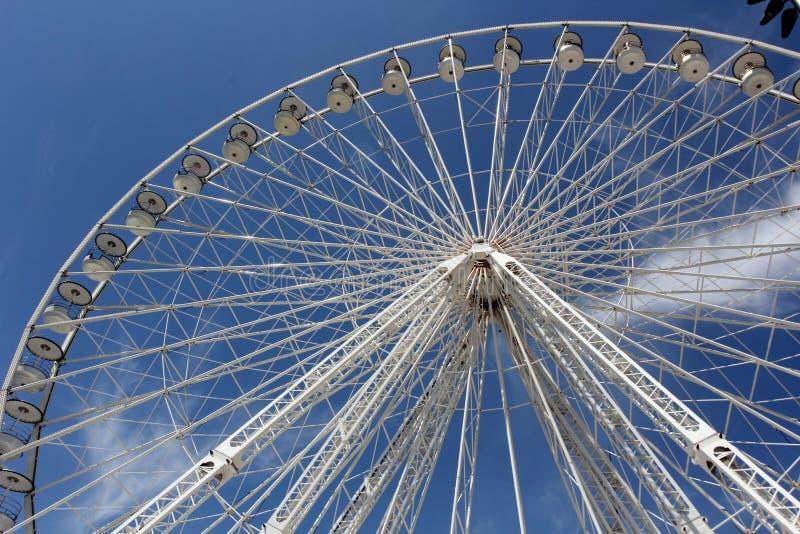 Ferris toczy wewnątrz Marseille obrazy royalty free