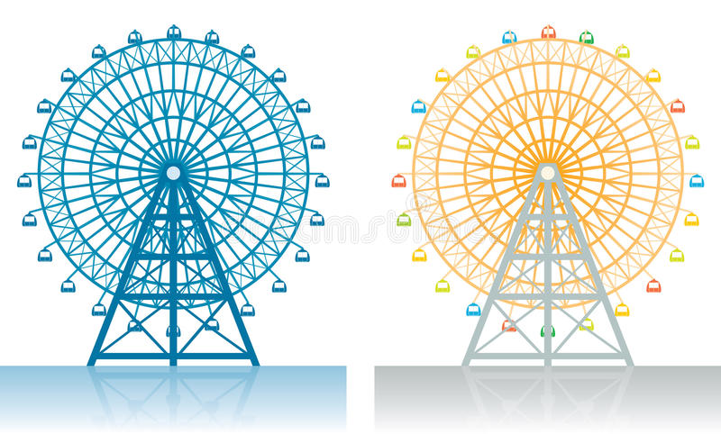 Ferris Wheel stock illustration