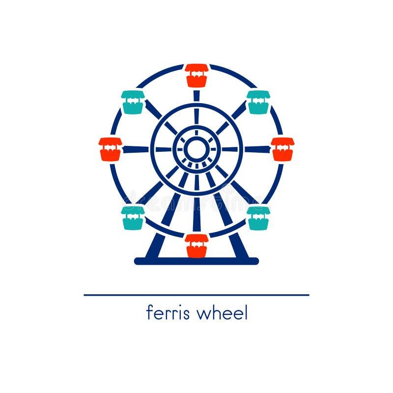 Ferris Wheel ilustração royalty free