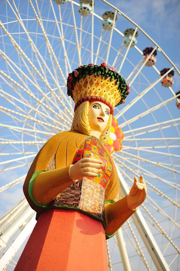 Download Ferris Wheel stock photo. Image of woman, female, amusement - 13775978