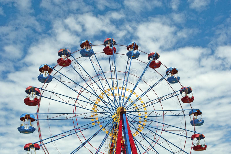 Download Ferris wheel stock photo. Image of fair, acrophobia, observation - 14797272