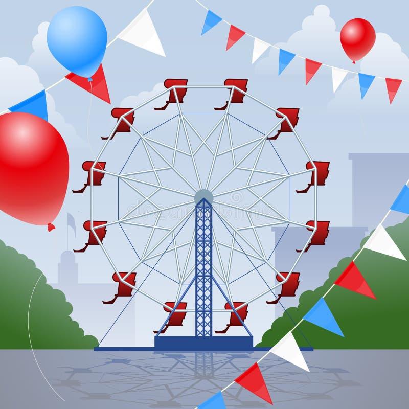 Free Ferris Wheel Royalty Free Stock Photo - 19800495