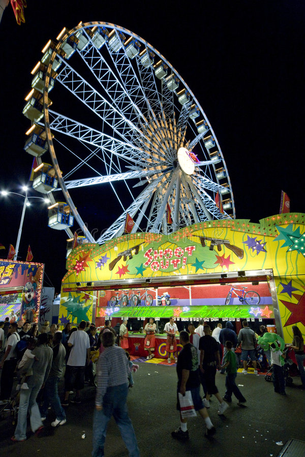 Free Ferris Wheel 2 Stock Image - 4795101