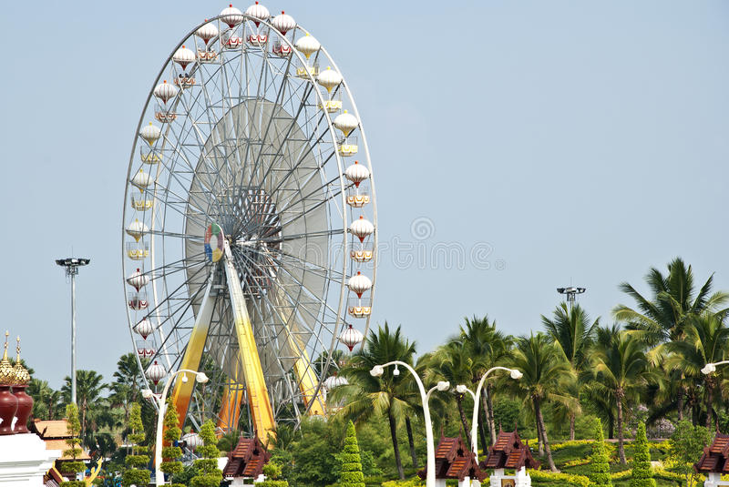 Download Ferris wheel stock photo. Image of circle, colorful, outdoor - 24120484
