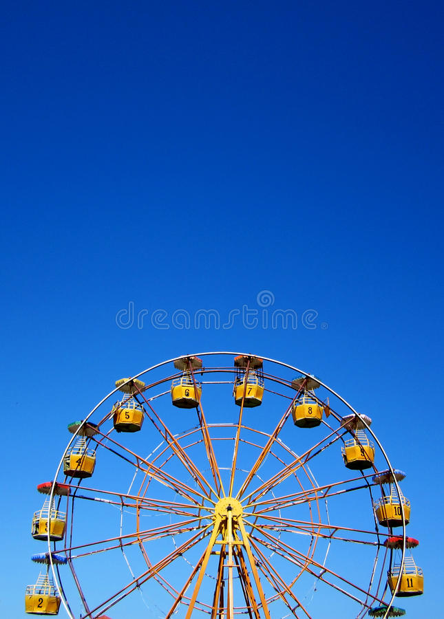 Download Ferris wheel stock photo. Image of colorful, circle, pure - 24187716