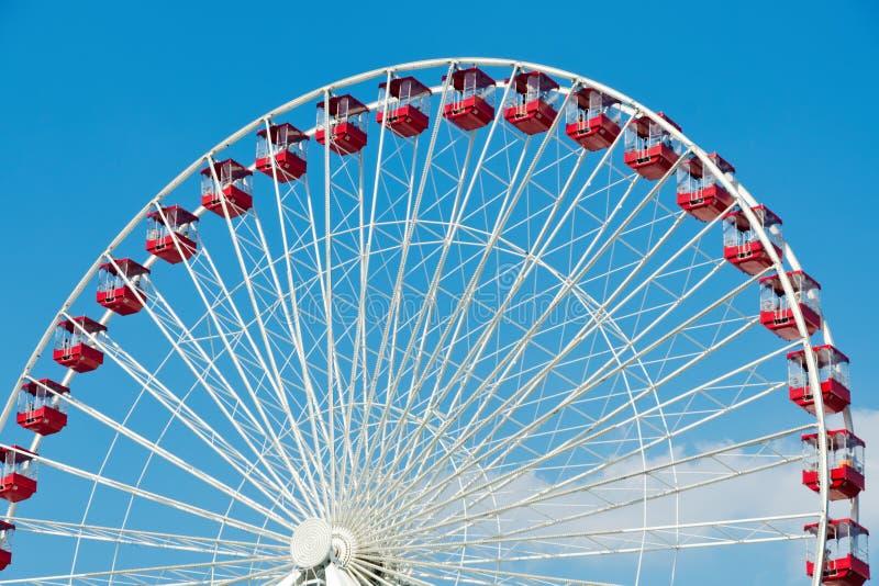 Download Ferris wheel stock photo. Image of radial, blue, ferris - 24629606