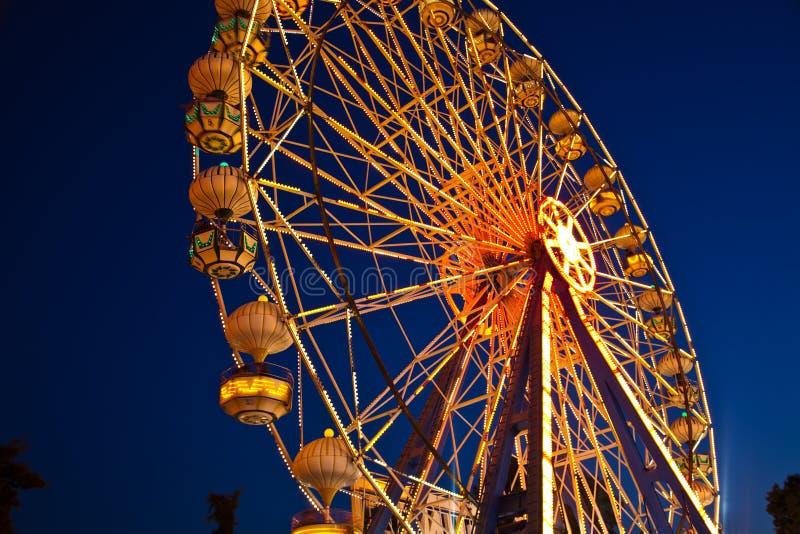 Download Ferris Wheel stock image. Image of illuminated, ferris - 26624491