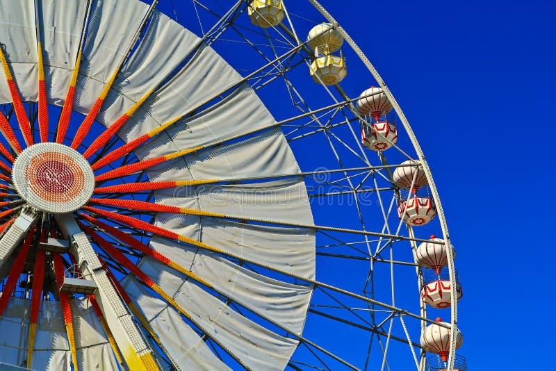 Download Ferris wheel stock photo. Image of admiration, blue, metal - 27699798