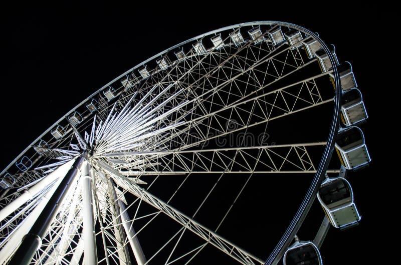 Ferris wheel. The Ferris wheel at Bangkok royalty free stock image