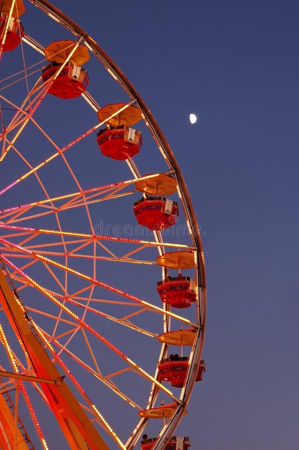 Ferris Wheel. This is a ferris wheel in NC state fair 2007 stock photo