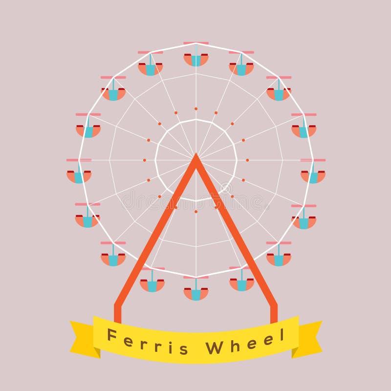 Ferris Wheel illustration de vecteur