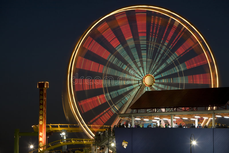 Ferris Wheel 4 stock photography