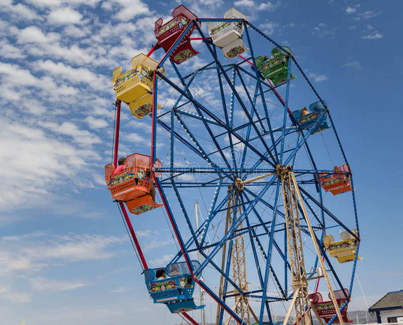 Ferris Wheel lizenzfreies stockfoto