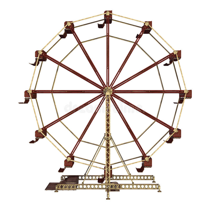 Ferris Wheel vector illustratie