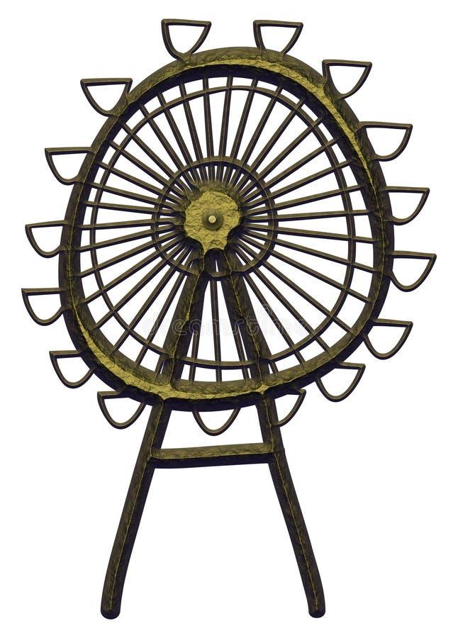 Ferris Wheel stock de ilustración