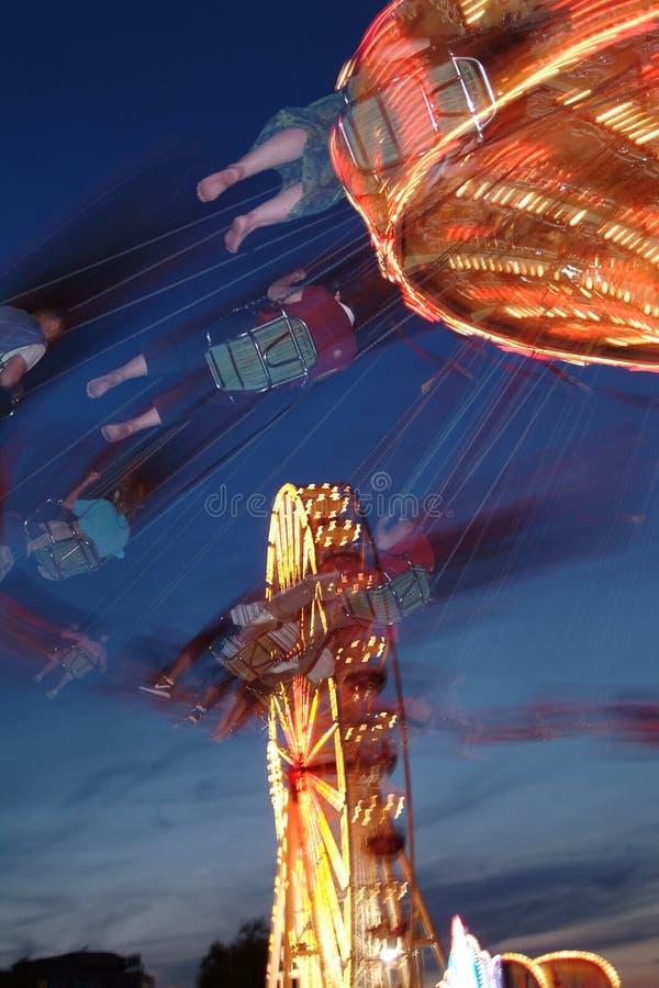 Ferris wheel. At the Johannesnacht in Mainz, Germany stock photos