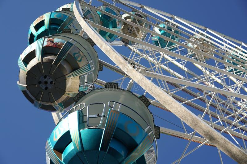 Ferris Wheel royalty-vrije stock afbeeldingen