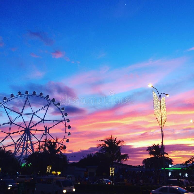 Ferris Wheel royaltyfri fotografi