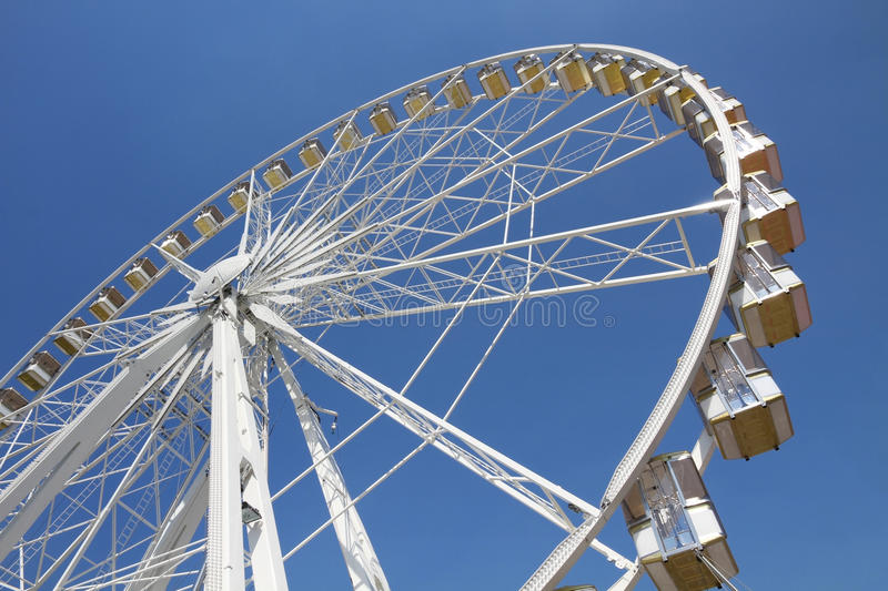 Download Ferris Wheel In An Amusement Park Stock Image - Image: 15031431