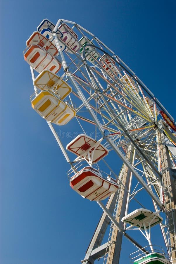 Ferris Wheel bij de Kust van Nieuwsjersey stock afbeeldingen