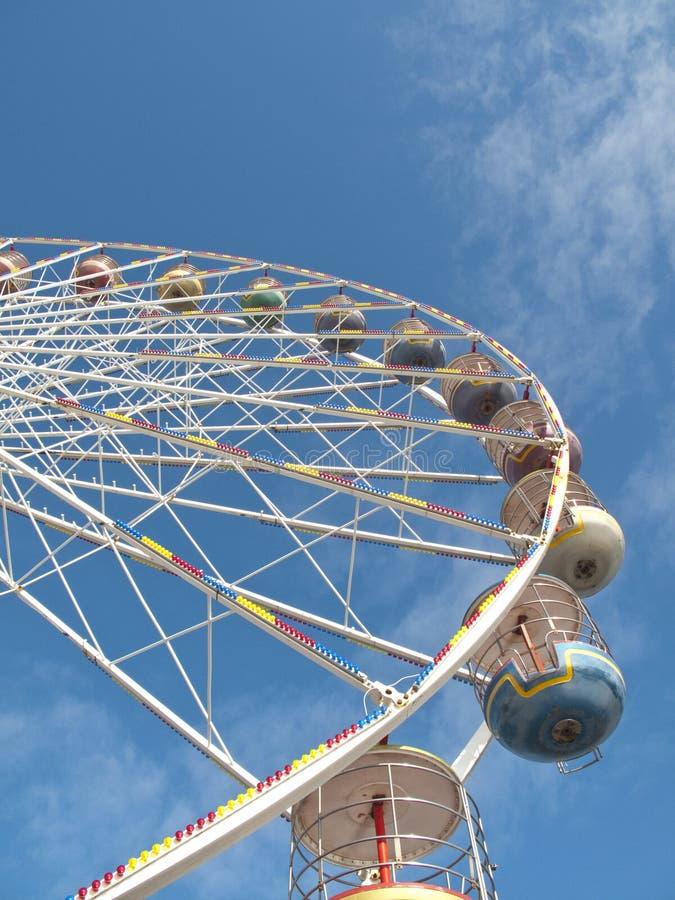 Ferris Wheel - Blackpool stock photography