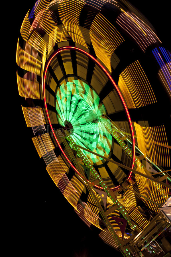 Download Ferris Wheel With Blur On Black Stock Image - Image: 26549335